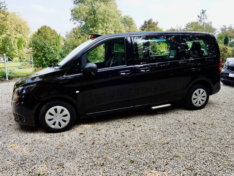MERCEDES VITO 114CDI PLUS COMPACT LONDON TAXI
