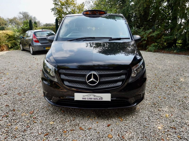 View MERCEDES VITO 114CDI PLUS COMPACT LONDON TAXI